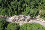 Rainforest river in Borneo -- sabah_aerial_1445