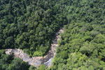 Rainforest river in Borneo -- sabah_aerial_1457