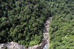 Rainforest river in Borneo -- sabah_aerial_1461