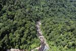 Rainforest river in Borneo -- sabah_aerial_1464
