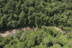 Rainforest river in Borneo -- sabah_aerial_1465