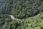Rainforest river in Borneo -- sabah_aerial_1486