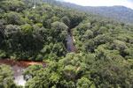 Blackwater river in Borneo -- sabah_aerial_1513