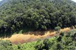 River in Borneo -- sabah_aerial_1552
