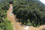 River in Borneo -- sabah_aerial_1556