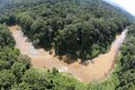 River in Borneo -- sabah_aerial_1559