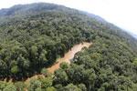 River in Borneo -- sabah_aerial_1565