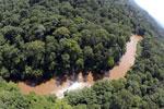 River in Borneo -- sabah_aerial_1569