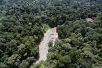 River in Borneo -- sabah_aerial_1577