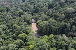 River in Borneo -- sabah_aerial_1597