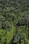 Research camp site in Imbak Canyon -- sabah_aerial_1932