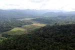Deforested rainforest valley -- sabah_aerial_2306