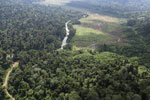 Deforested rainforest valley -- sabah_aerial_2309