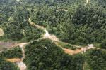 Logging road in Borneo -- sabah_aerial_2322