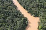 Kinabatangan River -- sabah_aerial_2860