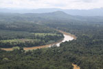 Kinabatangan River -- sabah_aerial_2870