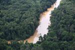 Kinabatangan River -- sabah_aerial_2874