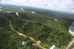 Oil palm near the Kinabatangan -- sabah_aerial_2962