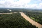 Kinabatangan River -- sabah_aerial_3062